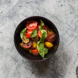 Heirloom Tomato & Red Onion Salad