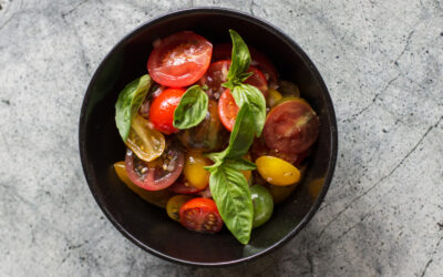 Heirloom Tomato & Red Onion Salad