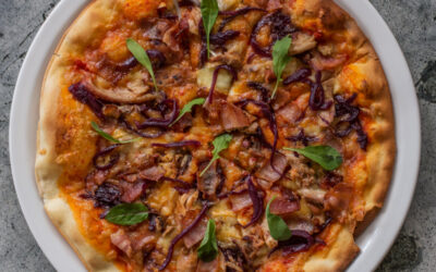 Chicken, Bacon, Brie, Red Onion Marmalade