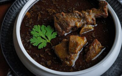 North African Lamb and Green Bean Stew