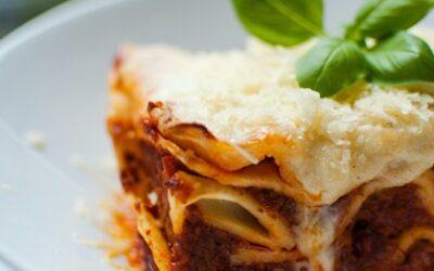Beef Lasagne – Hand-Rolled Pasta